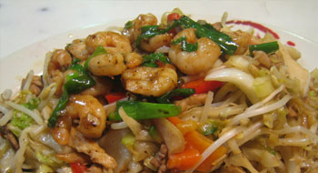 CHOP SUEY DE GAMBAS (CHINA)
